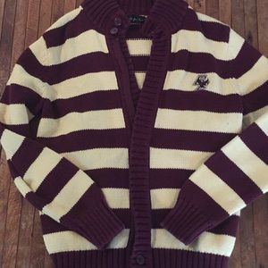 Boston college zip sweater sz 8-10